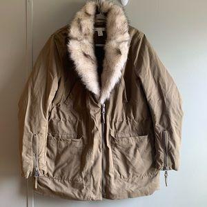 H&M   Size 12   Army Green Parka Jacket